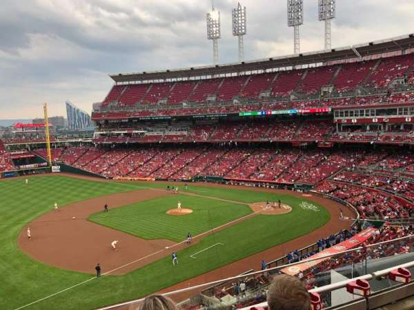 Great American Ball Park, section: 414, row: C, seat: 10