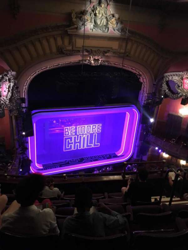 Lyceum Theatre (Broadway), section: Balcony Left, row: F, seat: 13