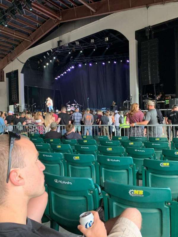 Bank of New Hampshire Pavilion, section: 1C, row: 15, seat: 14