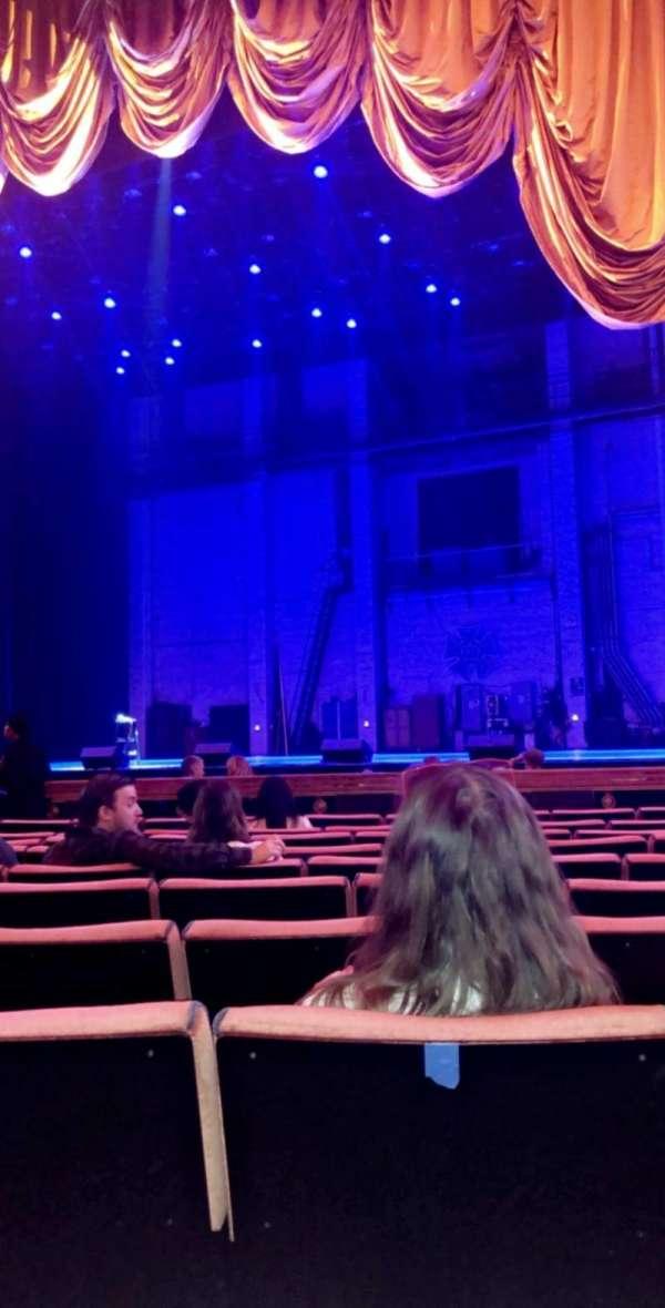 Radio City Music Hall, section: Orchestra 3, row: KK, seat: 303