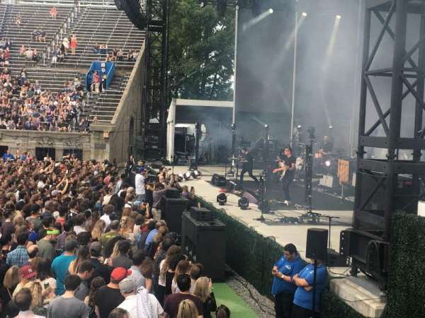 Forest Hills Stadium, section: 101, row: C, seat: 4