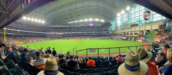 Minute Maid Park, section: 155, row: 14, seat: 10