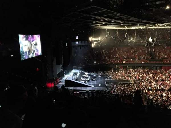 The Forum, section: 224, row: 10, seat: 12