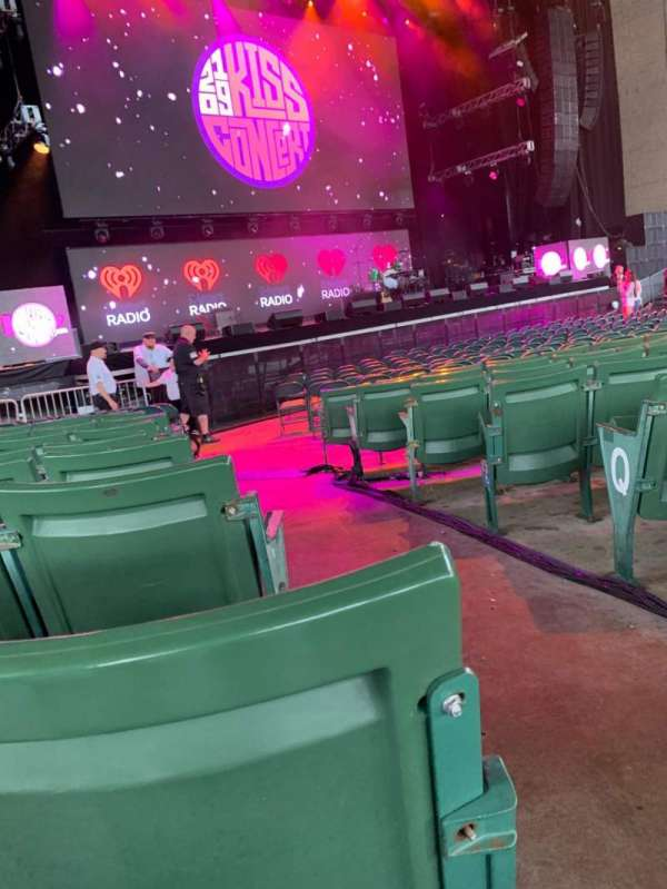 Xfinity Center, section: 3, row: U, seat: 1