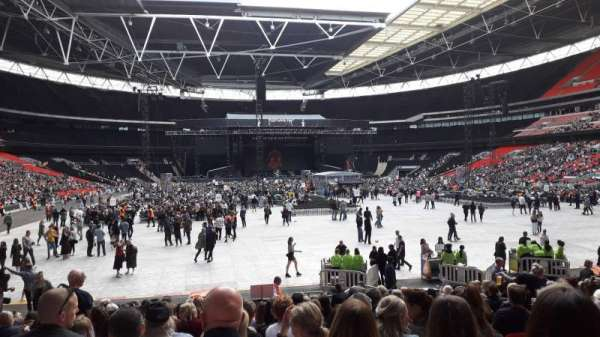 Wembley Stadium, section: 113, row: 19, seat: 52