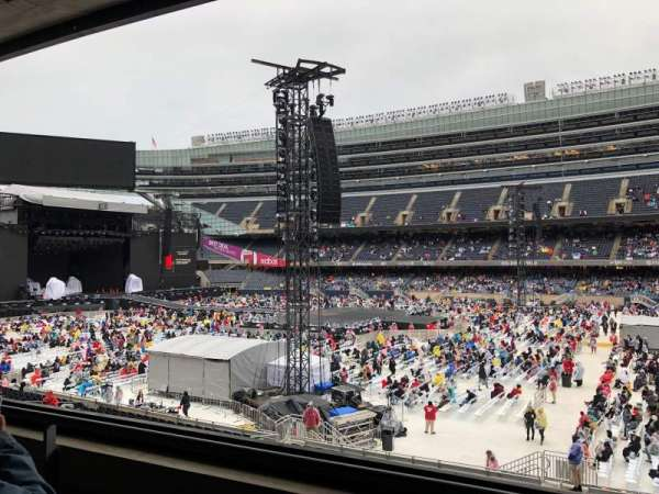 Soldier Field, section: 234, row: 2, seat: 12