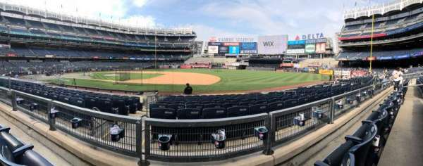 Yankee Stadium, section: 114b, row: 2, seat: 10