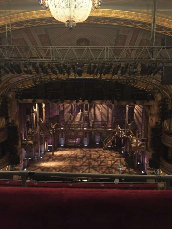 Richard Rodgers Theatre, section: Rear Mezzanine C, row: G, seat: 105