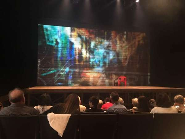 Loeb Drama Center, section: Orchestra, row: B, seat: 21