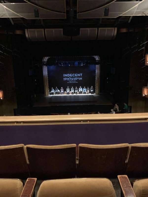 Ahmanson Theatre, section: Mezz, row: C, seat: 25