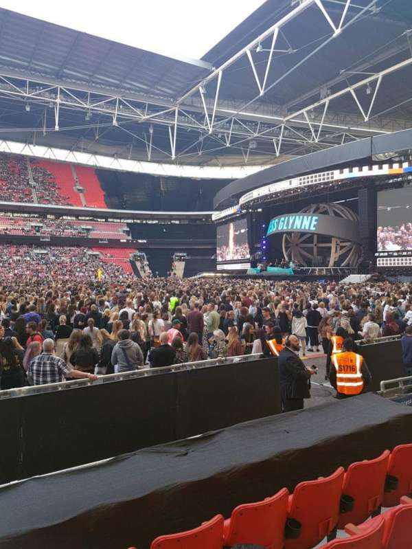 Wembley stadium , section: 144, row: 6, seat: 17