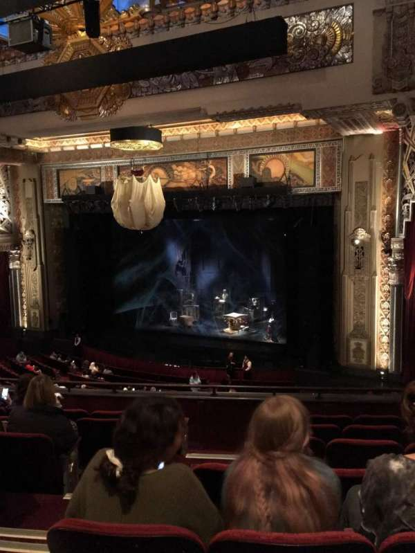 Hollywood Pantages Theatre, section: Mezzanine R, row: G, seat: 2-8