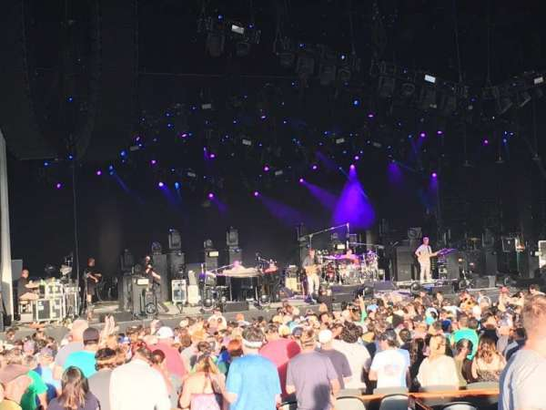 PNC Music Pavilion, section: 8, row: J, seat: 17