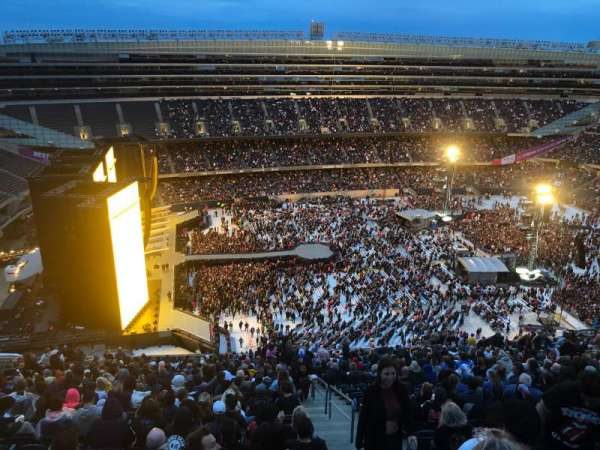 Soldier Field, section: 441, row: 32, seat: 22