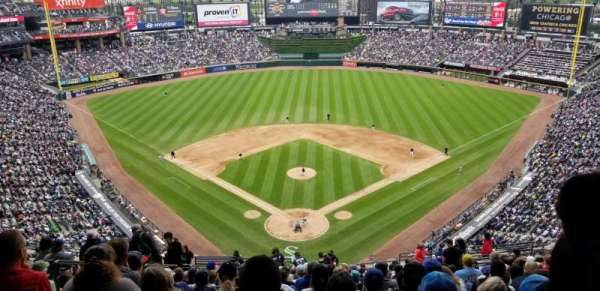 Guaranteed Rate Field, section: 531, row: 20, seat: 17