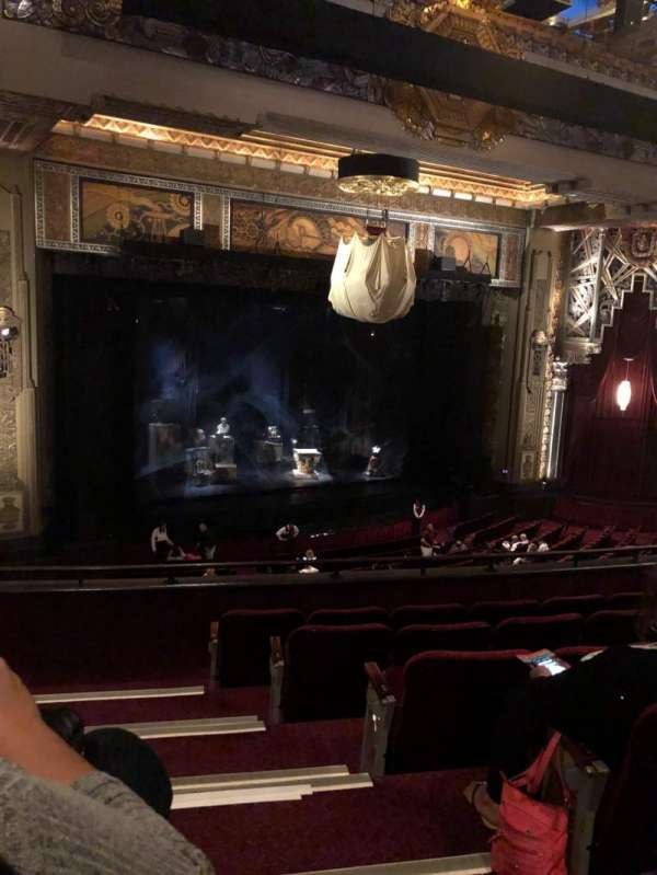 Hollywood Pantages Theatre, section: Mezzanine L, row: F, seat: 1