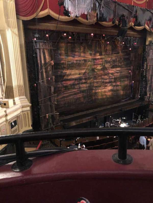 Citizens Bank Opera House, section: Dress circle l, row: AA, seat: 33