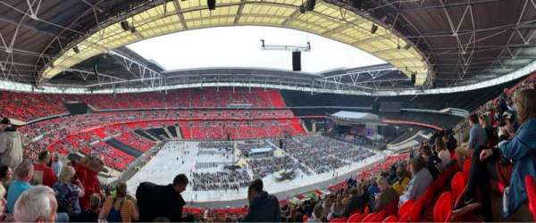 Wembley Stadium, section: 503, row: 62, seat: 64
