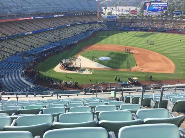 Dodger Stadium, section: 10RS, row: K, seat: 20