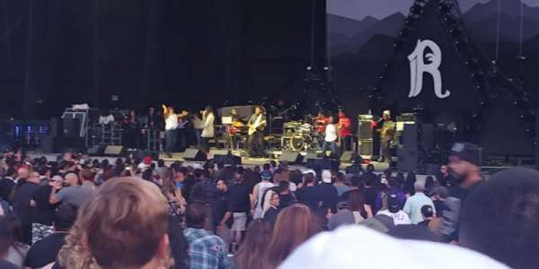 North Island Credit Union Amphitheatre, section: 101, row: L, seat: 23