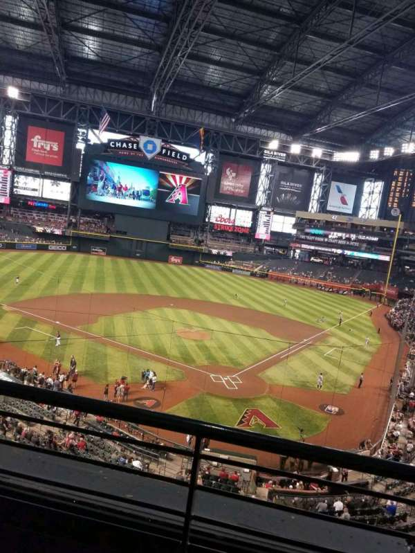 Chase Field, section: 210G, row: 2, seat: 75