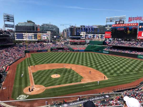 Nationals Park, section: 317, row: C, seat: 17