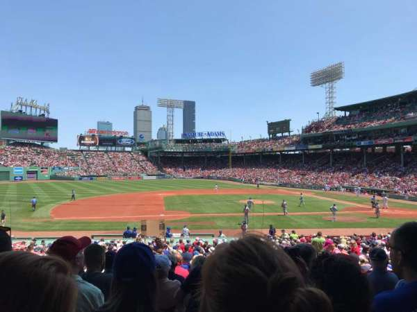 Fenway Park, section: Grandstand 26, row: 1, seat: 15