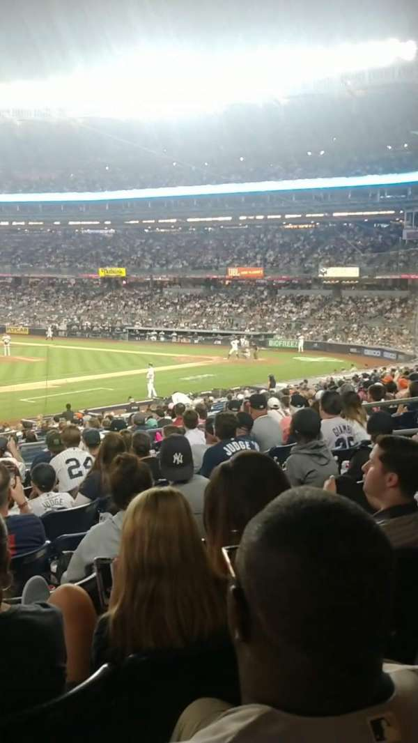 Yankee Stadium, section: 127A, row: 12, seat: 13