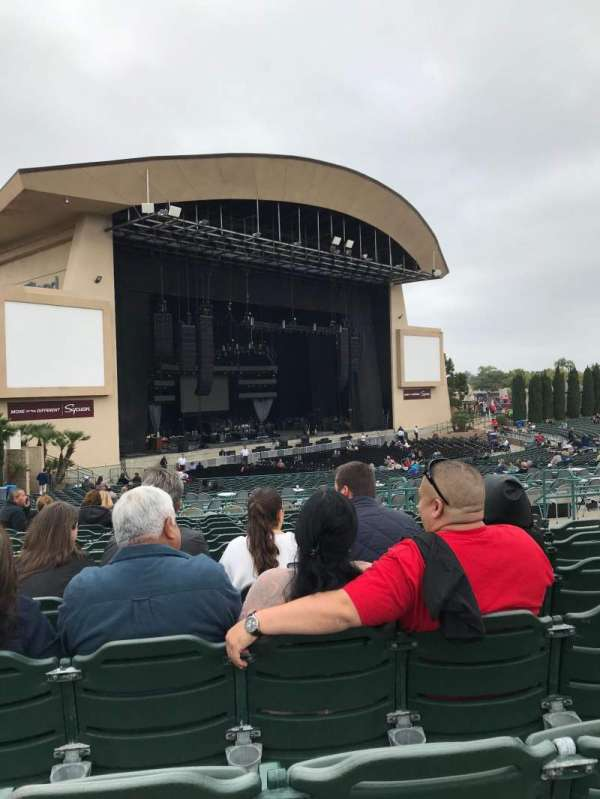 North Island Credit Union Amphitheatre, section: 205, row: M, seat: 7