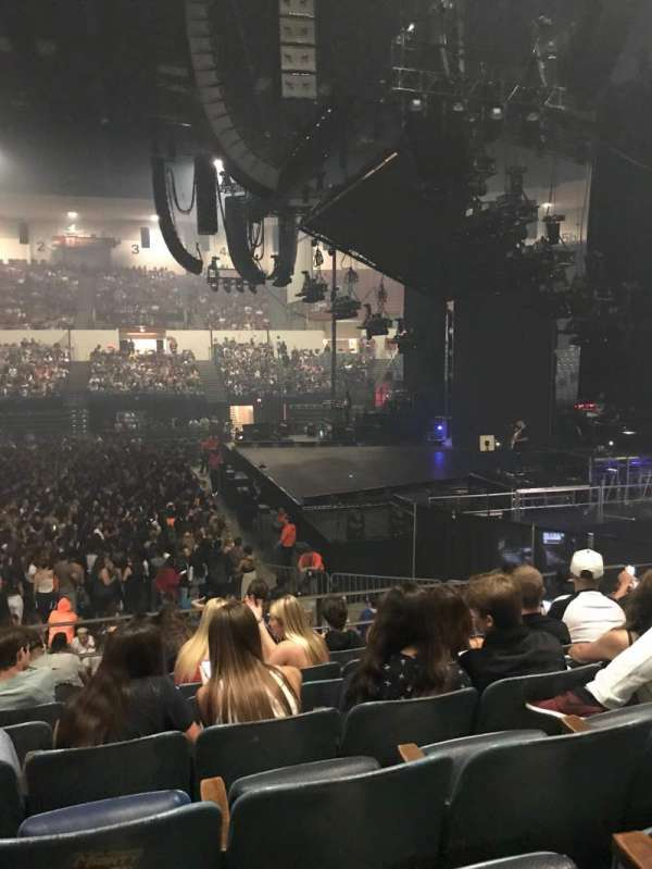 Pechanga Arena, section: L11, row: 7, seat: 10