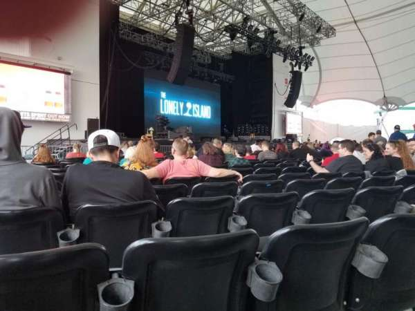 Rockland Trust Bank Pavilion, section: 3, row: W, seat: 23