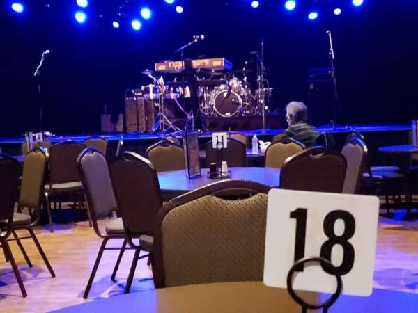 Tupelo Music Hall, section: Floor, seat: Table 18