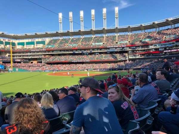 Progressive Field, section: 175, row: U, seat: 20