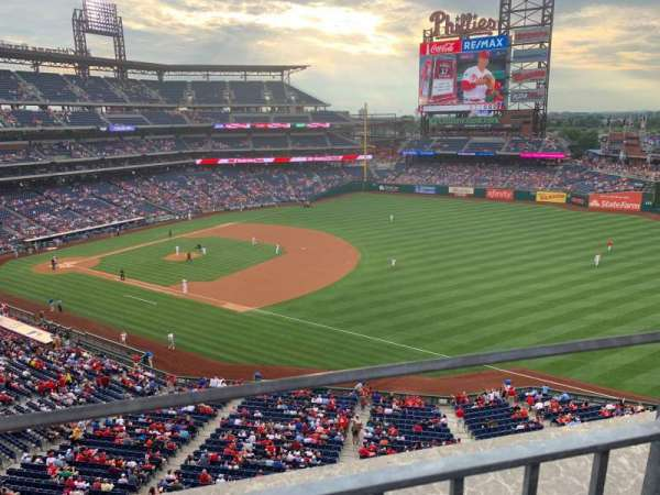 Citizens Bank Park, section: 310, row: 1, seat: 2