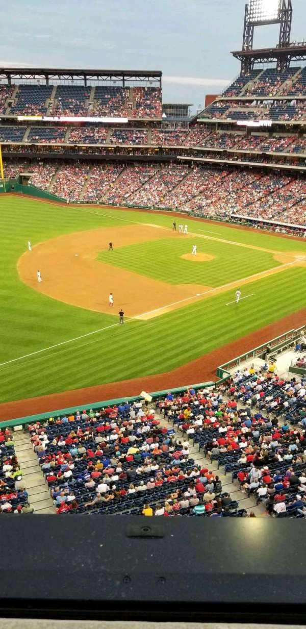 Citizens Bank Park, section: 330, row: 1, seat: 14