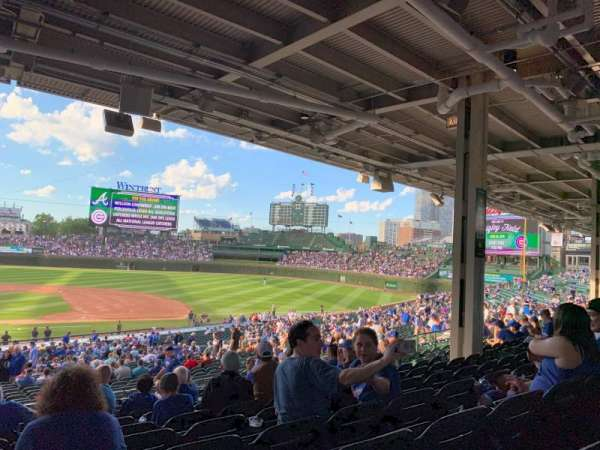 Wrigley Field, section: 222, row: 12, seat: 10