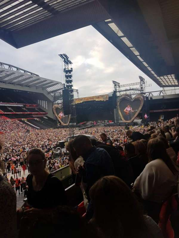 Anfield, section: 109, row: 23