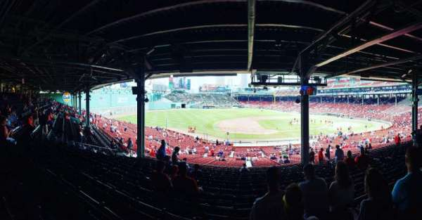 Fenway Park, section: Grandstand 27, row: 16, seat: 7
