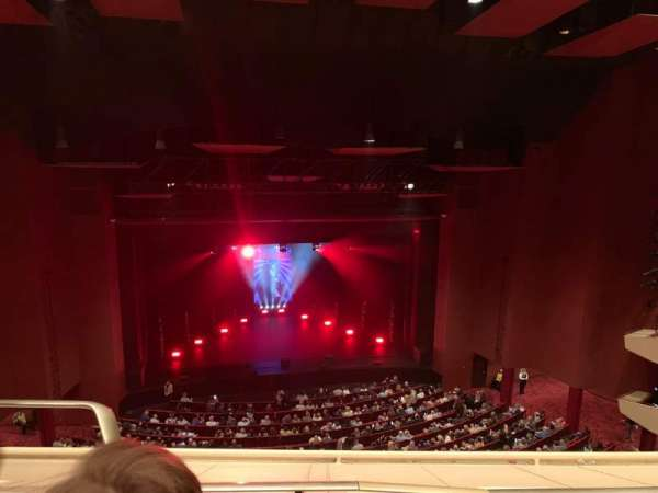 San Diego Civic Theatre, section: Balcony Left, row: P, seat: 11