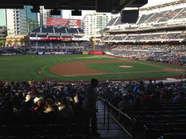 PETCO Park, section: FB114, row: 44D, seat: 5-7