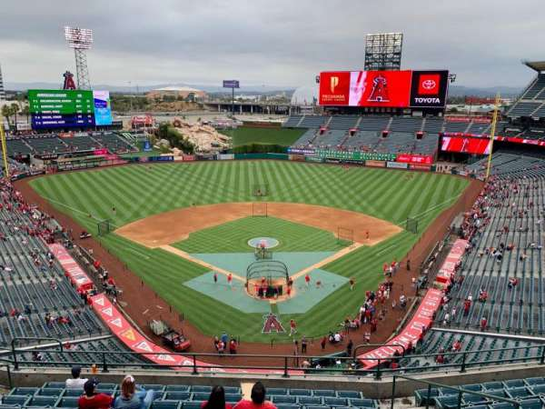 Angel Stadium, section: V418, row: C, seat: 7