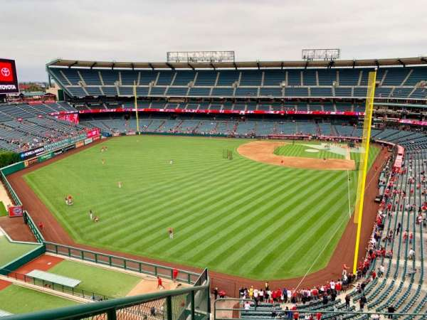 Angel Stadium, section: V401, row: F, seat: 9