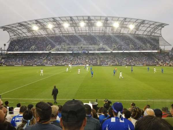 Banc of California Stadium, section: Field Club B, row: G, seat: 10