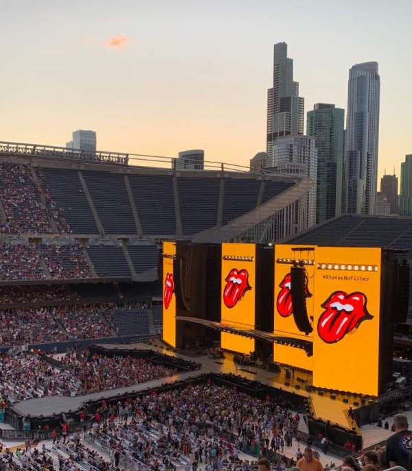 Soldier Field , section: 310, row: 15, seat: 11