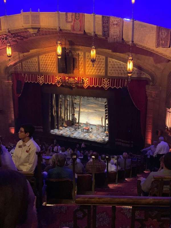 Fox Theatre (Atlanta), section: Second Dress Circle RC, row: N, seat: 30