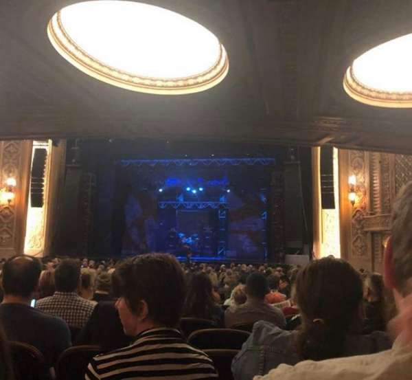 Paramount Theatre (Seattle), section: Main Floor 2, row: DD, seat: 12