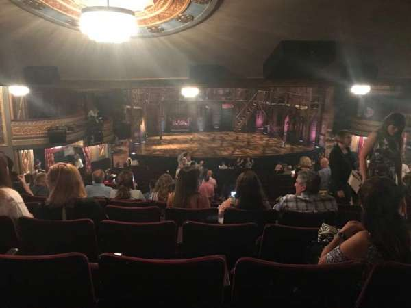 Richard Rodgers Theatre, section: Orchestra L, row: W, seat: 11