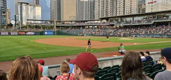 BB&T Ballpark (Charlotte), section: 118, row: G, seat: 14