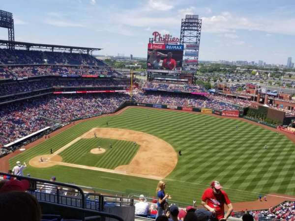 Citizens Bank Park, section: 413, row: 13, seat: 21