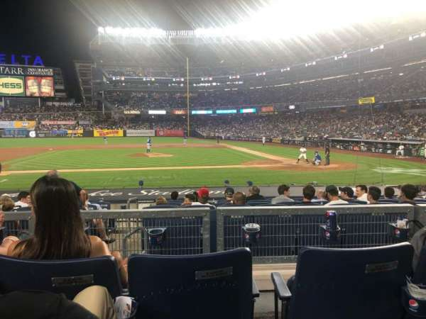 Yankee Stadium, section: 123, row: 3, seat: 7